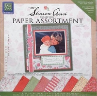 Deja Views The Sharon Ann paper assortiment SAC-P1 red