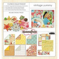 Sassafras Collection kit Vintage yummy 45021