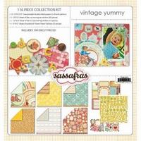 Sassafras Collection kit Vintage yummy 45021