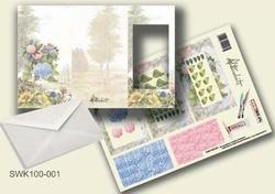 Olba pyramidebloenenkaart SWK100-001 Bloemen