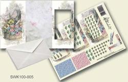 Olba pyramidebloenenkaart SWK100-005 Vogel