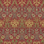Scrapbookvel K&Company 651555 Christmas red brocade