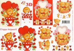 A4 Knipvel Le Suh 4169131 Valentijn beertje
