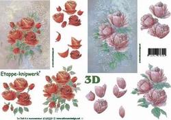 A4 Knipvel Le Suh 4169229 Bloemen rozen