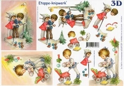 A4 Knipvel Le Suh Kerst 4169129 Kindjes