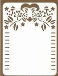 PaperUp oplegkaart A6 601032 Kerstdeco 1