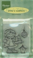 MD clear stamps EC0100 Eline's toddlers Jingle