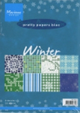 MD Pretty Paper Bloc PK9053 Winter blue