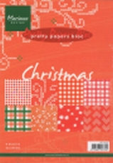 MD Pretty Paper Bloc PK9054 Christmas red