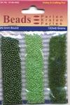 Hobby & Crafting trio Beads Pearl & Gloss 4606 Green/groen