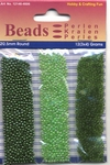 Hobby & Crafting trio Beads Pearl & Gloss 4606 Green/groen