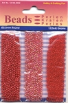 Hobby & Crafting trio Beads Pearl & Gloss 4602 Red/rood