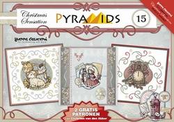 Carddeco Pyramids PYM015 Yvonne Creations