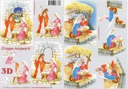 A4 Knipvel Le Suh Kerst 4169309 Geboorte van Jezus