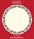 Doodey Luxe oplegkaart stans BPM5715 Hulstrand cirkel
