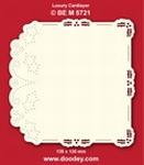 1 Doodey Luxe oplegkaart borduur BEM5721 Hulstrand