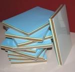 A4 Blok Karton 100 vellen 10 kleuren