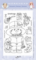 Clear stamps Morehaed Fun for You 97-1105 Kerstbrief