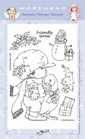 Clear stamps Morehaed Fun for You 97-1106 Kerstgans