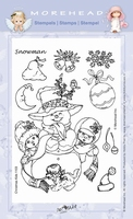 Clear stamps Morehaed Fun for You 97-1103 Sneeuwman