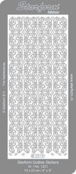 Sticker 30 Starform 1221 Brede herfstrand eikenblad/eikel