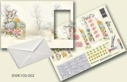 Olba pyramidebloenenkaart SWK100-002 Bloemen