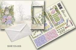 Olba pyramidebloenenkaart SWK100-008 Uil