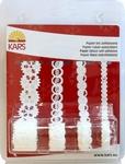Kars Zelfklevend papier lint Kerst 8013 Kristal
