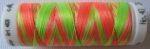Mettler borduurgaren Poly Sheen multi 9914 fluo groen/oranje