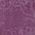 Scrapbookvel K&Company K-Ology 643666 Purple swirls