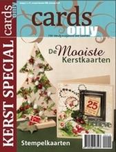 Scrap tijdschrift Cards Only nr 10 Kerstspecial 2009
