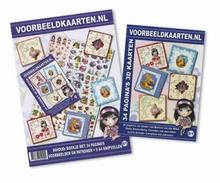 Knipvellen poster - 3D VKB met voorbeeldkaartenboekje.