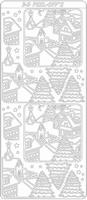 Kerst 3D Stickervel 2033 Kerst Landschap