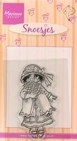 MD clear stamps Hetty's Snoesjes HM9417 Bloemensnoesje
