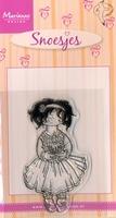 MD clear stamps Hetty's Snoesjes HM9416 Jarig snoesje