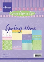 MD Pretty Paper Bloc PK9064 Spring time
