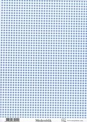 A4 Achtergrondvel Marjoleine 320514 Medemblik, blauwe ruit