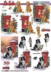 A4 Kerstknipvel Le Suh 650001 Hond bij postbus
