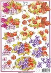 A5 knipvel Spring Cards 3D 524 Herfst
