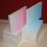 A5 blok Karton 100 vellen 10 kleuren afloppend kaarten