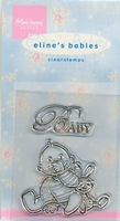 MD Clear stamps EC0111 Eline's Babies Baby