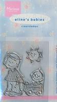 MD Clear stamps EC0110 Eline's Babies Broertje/zuje
