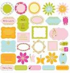 Making Memories 33791 Flutter Glitter die-cuts