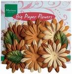 MD Big paper flower CP8950 Orange