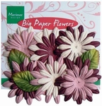 MD Big paper flower CP8946 Roze