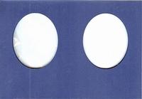 Doorkijkkaart Turn around Ovaal 234 Blauw