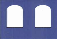 Doorkijkkaart Turn around Raam 244 Blauw