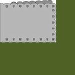 Passe-Partout Romak A6 liggend schulp 60 Olijf