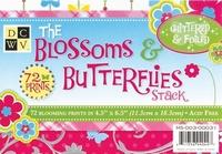 DCWV Mat stack MS-003-031 Blossom&butterflies