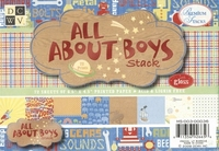 DCWV Mat stack MS-003-036 All about boys
